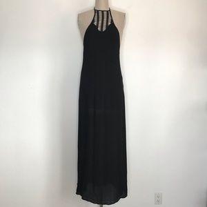 Tobi S Black maxi dress